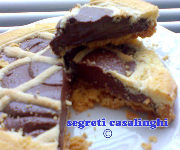 ricetta crostata cioccolato fondente ,crostata al cioccolato,crostata di cioccolata, pasta frolla e cioccolato,crostata solo con cioccolato fondente,