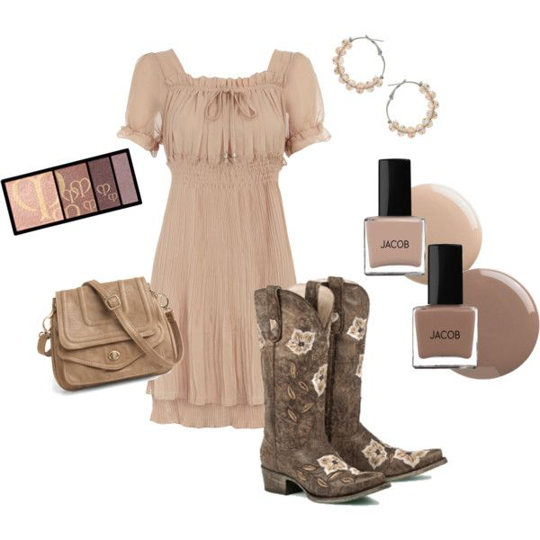 Love: Fashion, Style, Country Girl, Clothes, Outfit, The Dress, Cowgirl Chic, Boots