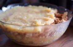 Rauschmittel: Dänischer Apfelkuchen – eigentlich gar kein Kuchen, sondern ein köstliches Dessert