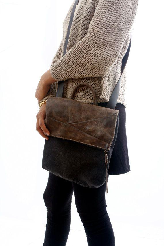 Zwarte Cross Body tas handtas portemonnee Travel Bag