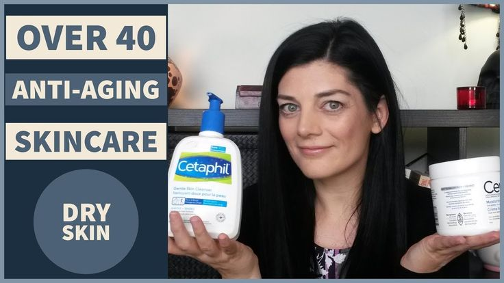 MY ANTI AGING SKINCARE ROUTINE 2017 | OVER 40 | For Younger looking skin | Dry Mature Skin