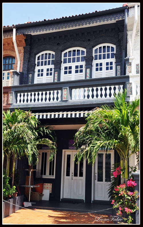our life in Singapore: the shophouses of Singapore