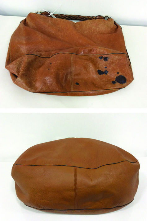 589e44a1a2e4 This Mulberry Daria bag came into the spa for a Ink Removal treatment and Colour  Restoration. Now you d never tell it had a stain.. thehandbagspa.com
