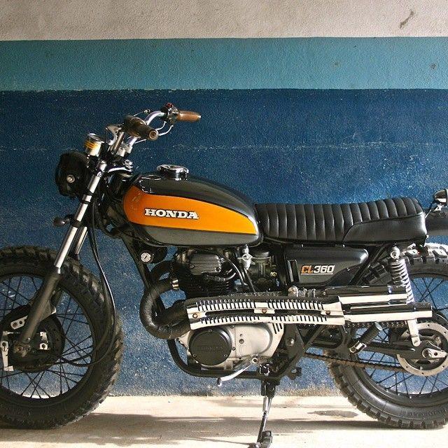 Honda CL360 Scrambler #motorcycles #scrambler #motos | caferacerpasion.com