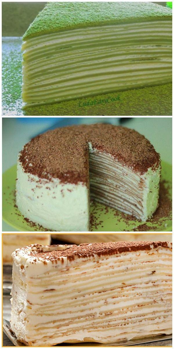 Рецепт невероятно вкусного Блинного Торта Зебра за 2 ...
