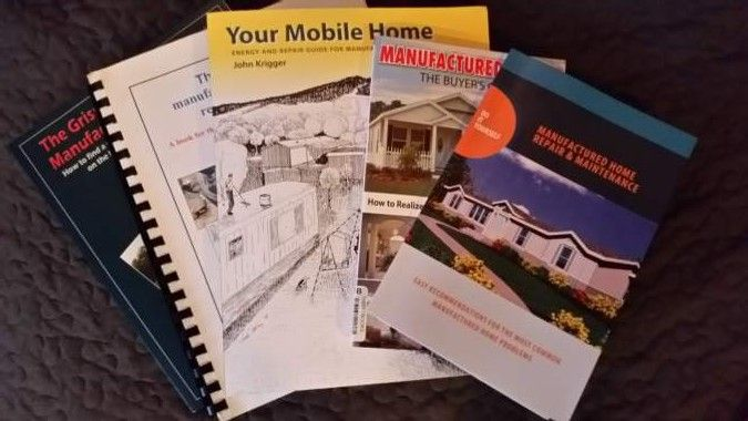 We reviewed useful mobile home repair books so we could tell you about them. See which books we think every mobile homeowner should know about.