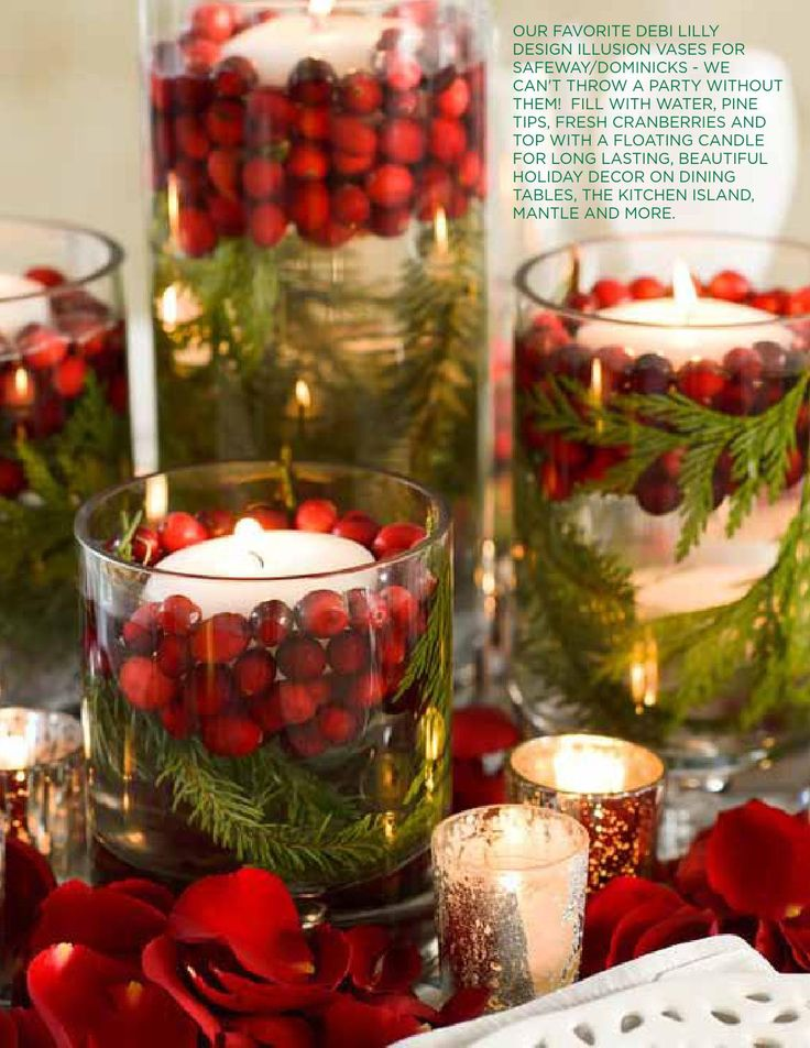 25 best ideas about floating candles on pinterest for 7 candle christmas decoration