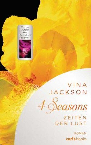 """Vina Jackson hat sich in ihrem Buch """"4 Seasons - Zeiten der Lust"""" dem zur Zeit beliebten Thema einer BDSM-Beziehung gewidmet. Diese Elemente sind ansprechend in die Erzählung integriert, das emotionale Potential des Plots wird aber nicht ausgeschöpft."""