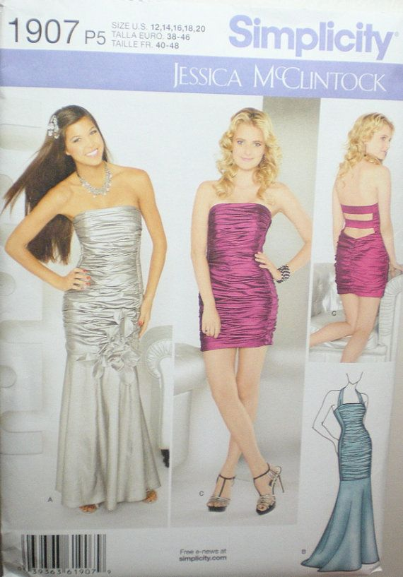 1000  images about Prom dress sewing patterns on Pinterest ...