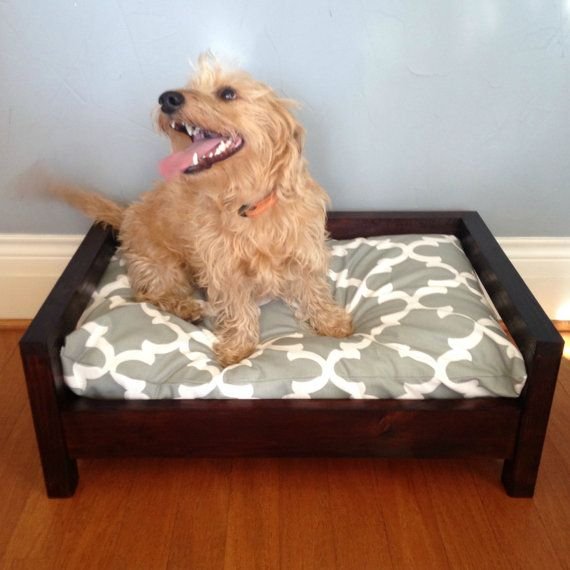 Dog Bed - Raised Dog Bed - Washable Dog Bed - Small Dog Bed - Orthopedic Dog Bed - Memory Foam Dog Bed - Modern Dog Bed - Elevated Dog Bed