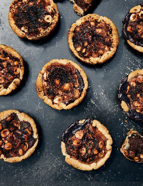 Burnt Chocolate Hazelnut Tarts - SUECH AND BECK - TORONTO FOOD PHOTOGRAPHERS