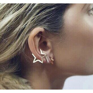 - Earring Type: Stud Earrings - Item Type: Earrings - Fine or Fashion: Fashion - Back Finding: Push-backåÊ - Style: Hiphop - Shape\pattern: Geometric - Place of Origin: China (Mainland)                                                                                                                                                     More