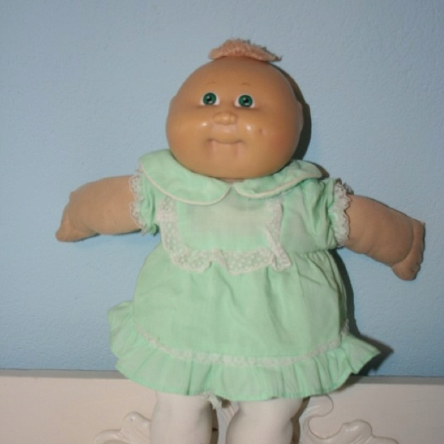 cabbage patch doll from the 80 39 s 80s stuff pinterest growing up preemies and toys. Black Bedroom Furniture Sets. Home Design Ideas