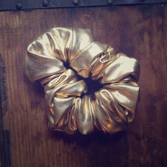 American apparell gold scrunchie American apparell gold scrunchie American Apparel Accessories
