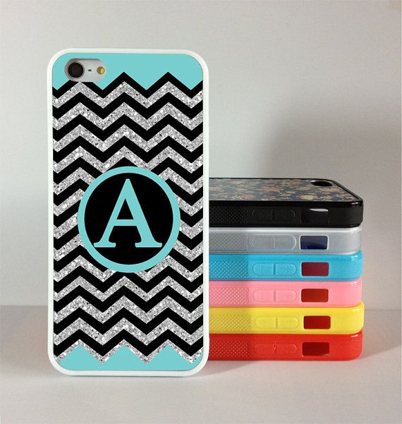iphone 5c case Monogram  Personalized  Chevron iphone 5s by Gift8, $6.99