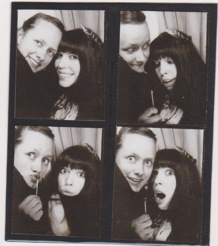 Vintage photo booth shenanigans | Girl in Florence