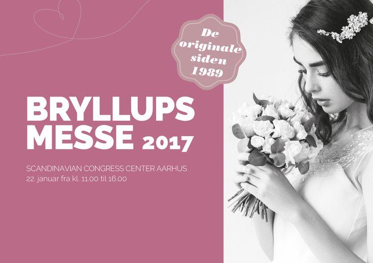 Brudekjoler, herretøj, lingeri, bryllupsfrisurer, elegant makeup og Danmarks længste bryllups catwalk - det kan man opleve i Lokomotivværkstedet 15