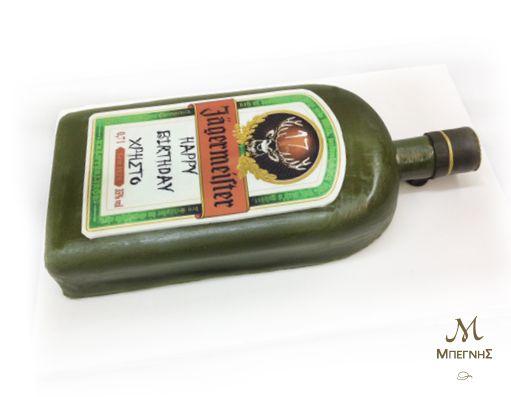 Γλυκό ή ποτό;  Και τα δύο... σε μια πρωτότυπη τούρτα, φτιαγμένη πολλή φαντασία από τη Μπεγνής!