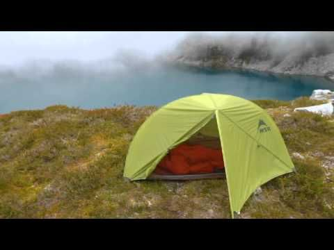 Solo Lightweight Backpacking Tent – Carbon Reflex™ 1 by MSR® 2lbs 2oz