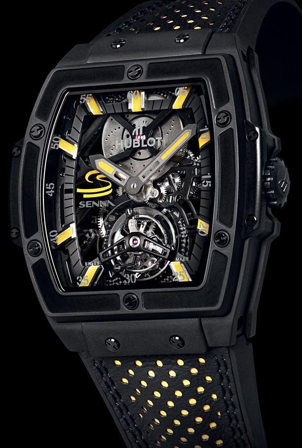 Hublot MP-06 Senna Tourbillon Watch for Ayrton Senna Fans #watchesformen, #luxurywatches, #bestwatchbrands,