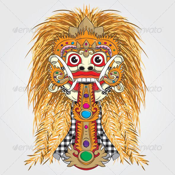 Rangda Bali #GraphicRiver Rangda Bali, Easy to use. ZIP file included : EPS (CMYK vector file = you can use any size you want without loss resolution), JPEG (RGB high resolution file 4000×4000 px) . No layers. Use Adobe Illustrator 8 or higher to edit EPS (vector file) or Adobe Photoshop to edit JPEG file. You can see detail in Screenshots menu. Created: 26February13 GraphicsFilesIncluded: VectorEPS Layered: No MinimumAdobeCSVersion: CS Tags: BalineseCulture #BalineseDancing…