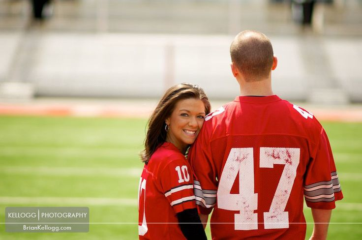 Engagement Session Ohio State Stadium