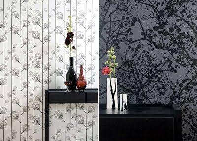 Furniture Design: Living Design Studio, carta da parati e gli interni etichette speciali