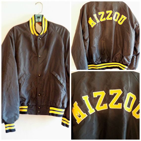 Vintage Mizzou Letterman Jacket Missouri Tigers by YellowMod