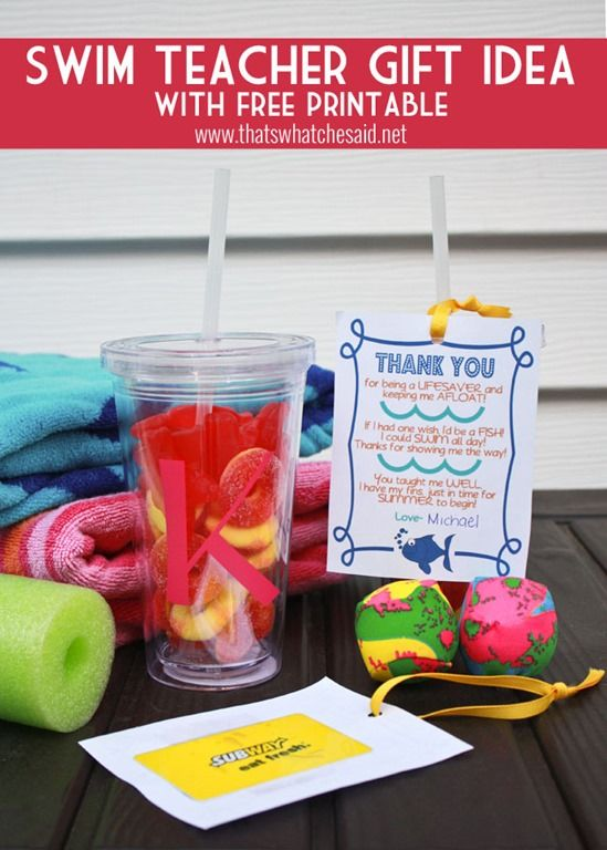 Swim Coach Thank You Gift Free Printable at thatswhatchesaid.net