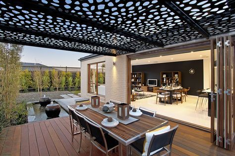 Delta 24 by Metricon metal screen roof, light weight cons for gazebo