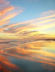 Can you imagine waking up to this? Move to Holden Beach, and you'll see it first hand!