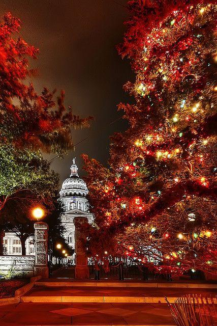 Austin - Texas - Capitol Christmas Tree