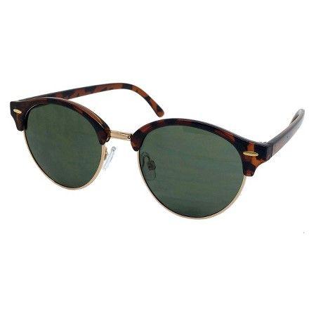 Men's Retro Sunglasses - Black : Target