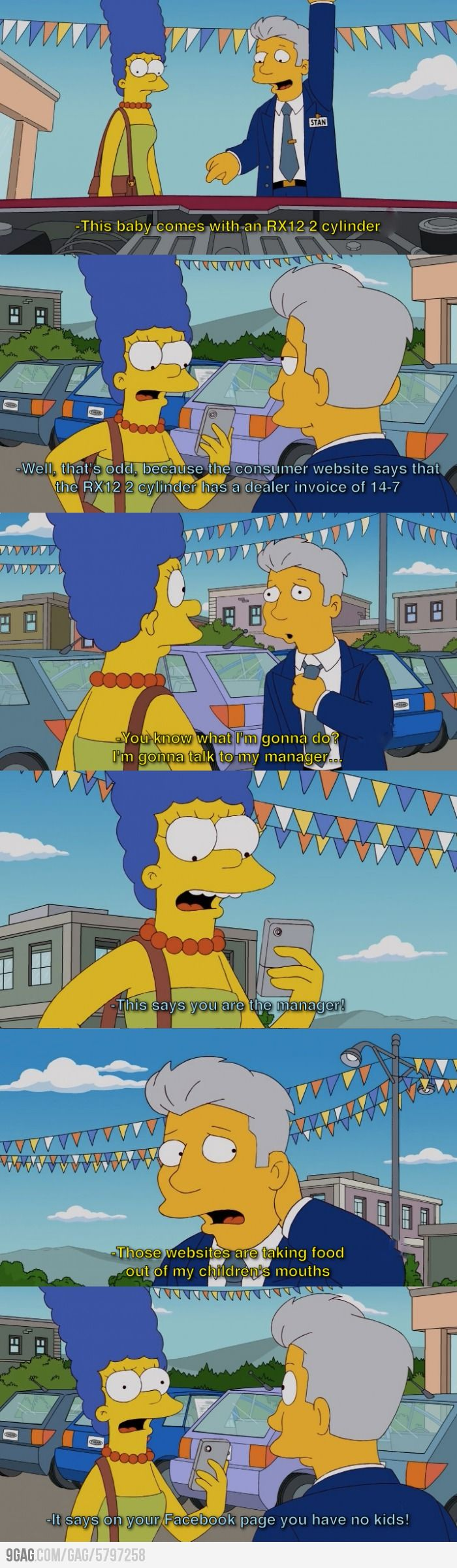 Haha, be more like Marge Simpson #lol Here are '6 common buying tips' she must have followed. Click to view!