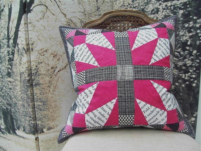 Modern She Made Swap 2 Cushion Finished by Jo Jo 33, via Flickr