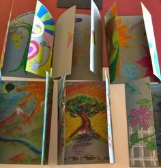 Cynthia Emerlye, Vermont artist and life coach: Art Therapy Project: Gateway to What I Most Desire