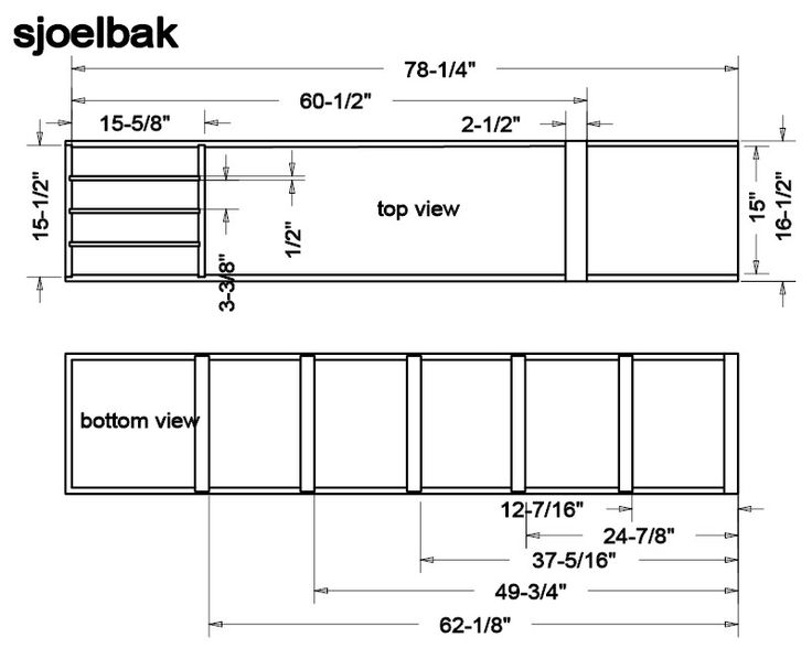 Sjoelbak Plans ... have wanted one for years!