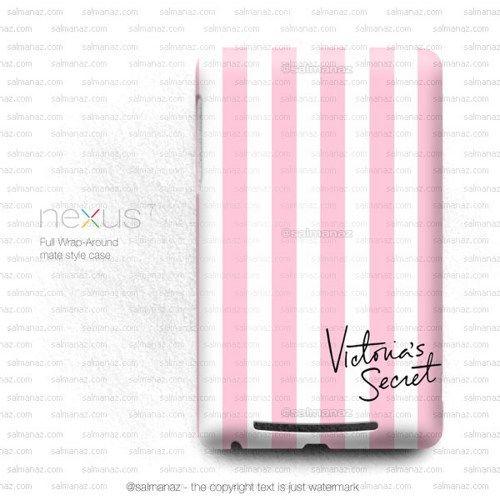 Victoria Secret Love Pink Stripe Google Nexus 7 1st Gen Case