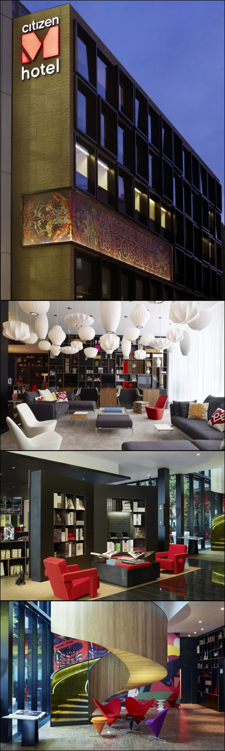 Best Standard NYC BABY Images On Pinterest Nyc Architects - Citizenm london bankside by concrete architectural associates