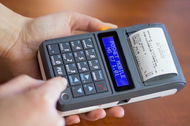Posnet Mobile HS EJ to najmniejsza i najlżejsza kasa fiskalna na rynku.