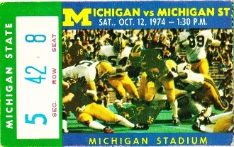 http://www.shop.47straightposters.com/1974-MICHIGAN-STATE-VS-MICHIGAN-football-ticket-art-74MICH.htm Michigan football ticket.
