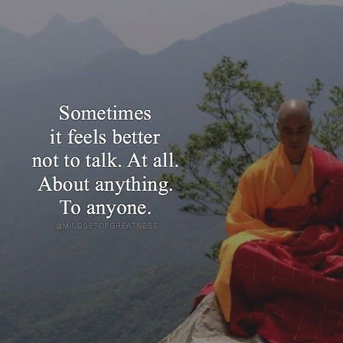 It's ok to be fluent in silence; those who truly care listen and understand regardless.