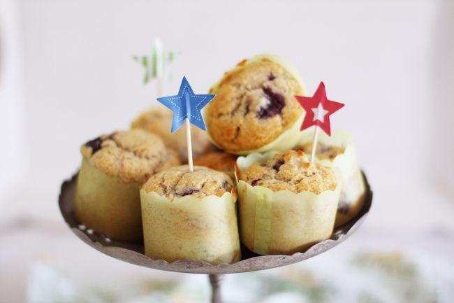lime blackberry muffins | Vegan | Pinterest