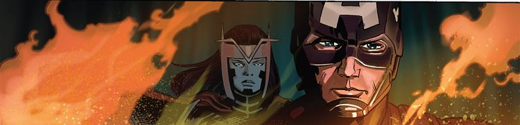 Princess Jet Black and Captain America in Captain America #11
