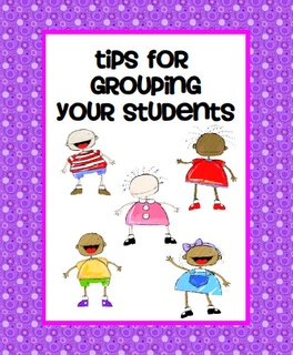 A few good ideas on how to group students for activities.  I wish there were more tips.