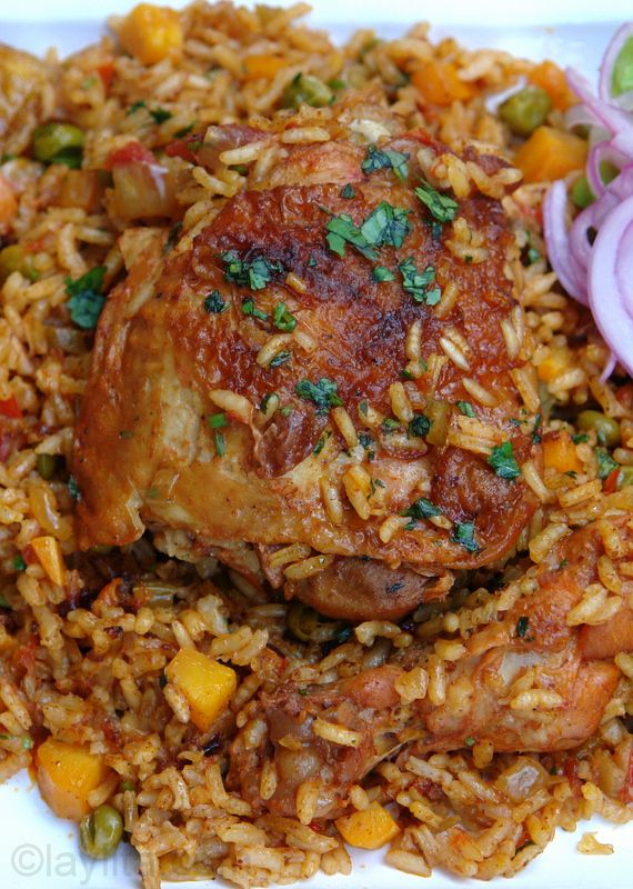 Arroz con pollo or chicken rice