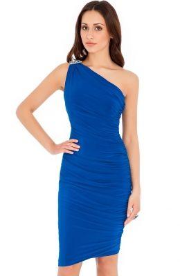 Elelgantné šaty na jedno rameno Gwyneth Paltrow