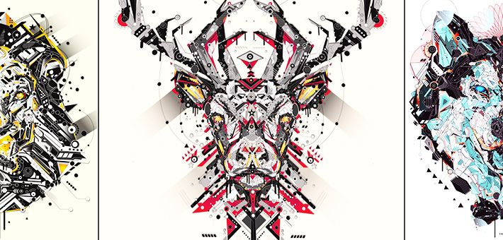 «Electro Animals» – Μια νέα σειρά εικονογραφήσεων απο τον καλλιτέχνη YoAz