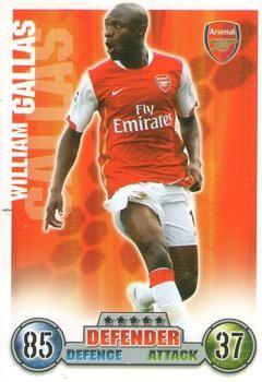 2007-08 Topps Premier League Match Attax #7 William Gallas Front