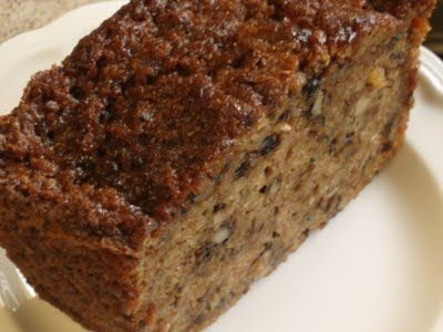 super moist zucchini bread, America's Test Kitchen...this one is really good with extra nuts and little chocolate chips.